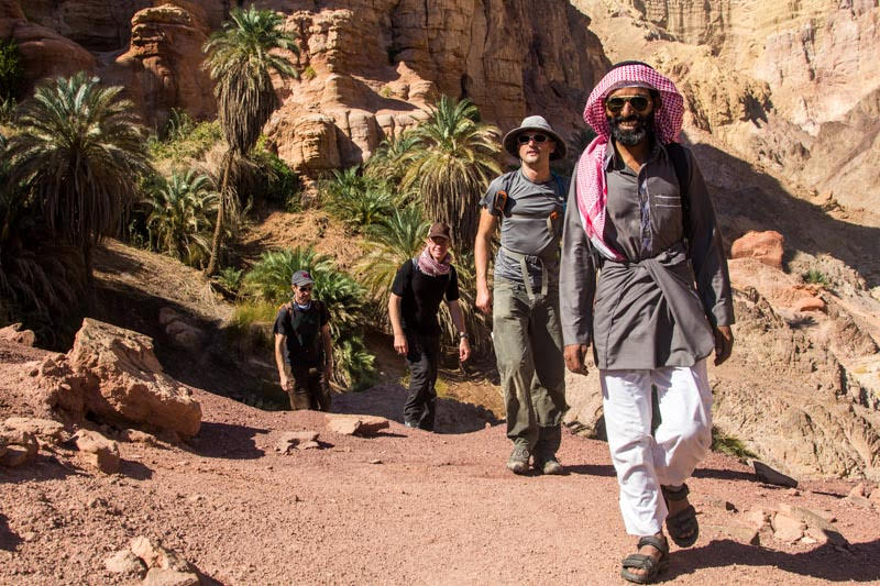 Bedouin guide on Sinai Trail, Egypt