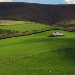 Remote farm, Forest of Bowland, Lancashire, England