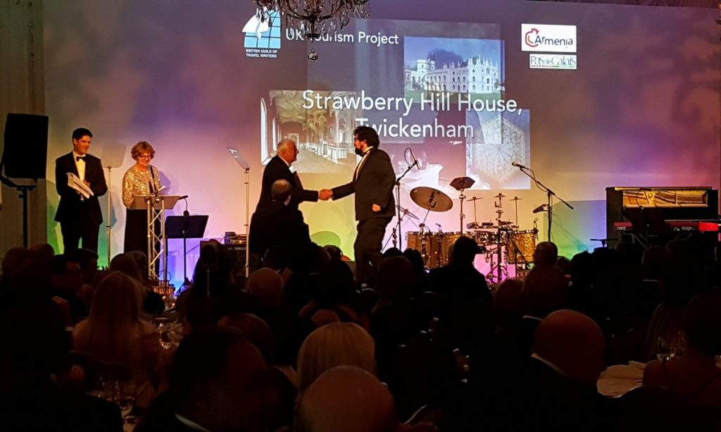 BGTW Tourism awards - Strawberry Hill
