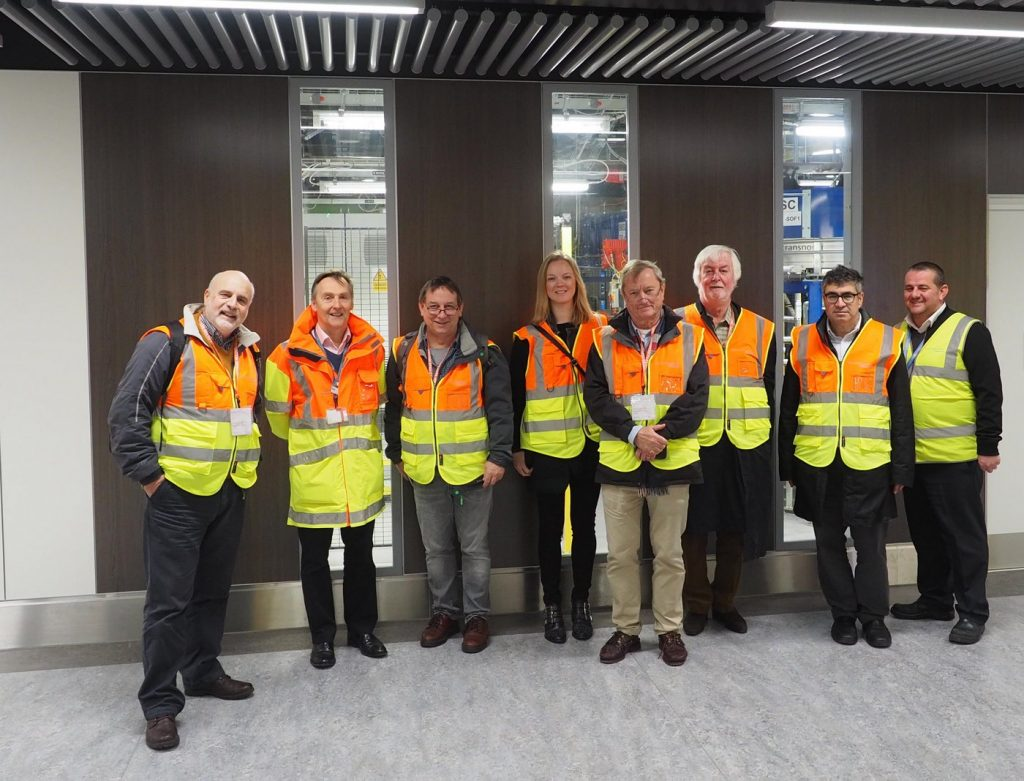 BGTW members touring Gatwick airport