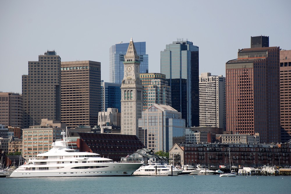 Duncan JD Smith photographed Boston Harbor in the USA