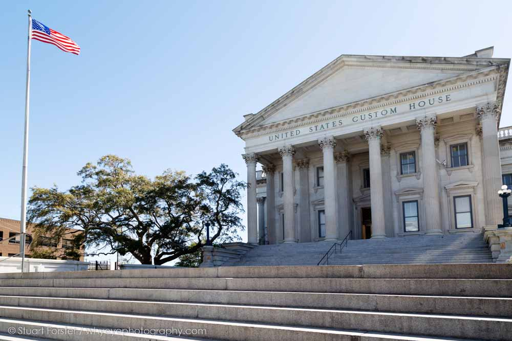 Attending the 2019 AGM presented opportunities for Guild members to see historic buildings such as the United States Custom House in Charleston, South Carolina